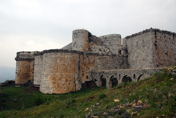 Baibars siege of Crac des Chevaliers lasted only 5 weeks