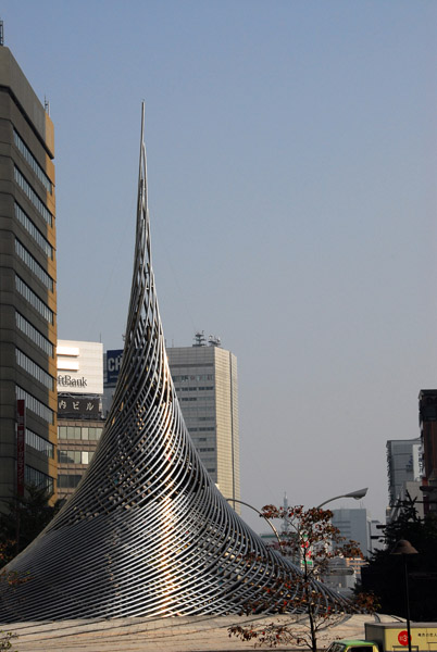 Monument in front of Nagoya Station
