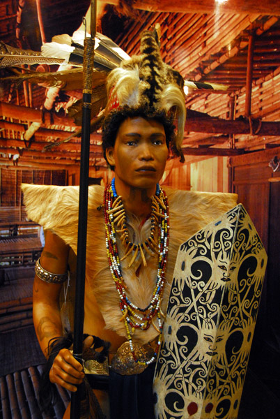 Ethnic costume from Malaysian Borneo