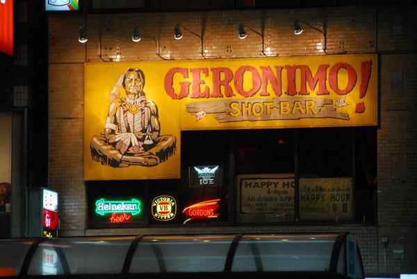 Geronimo Shot Bar, Tokyo - Roppongi