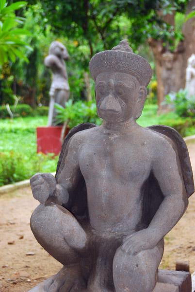 Cambodian National Museum sculpture garden