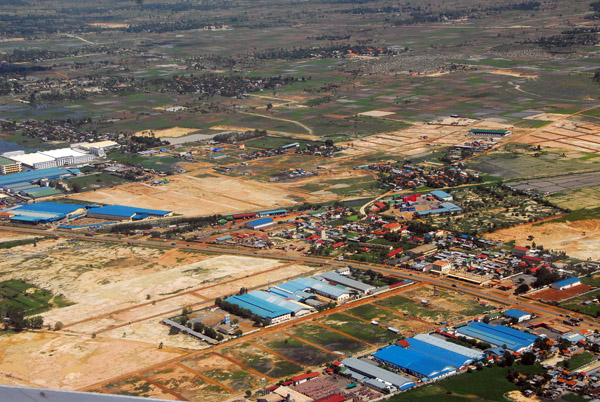 Outskirts of Phnom Penh, Cambodia