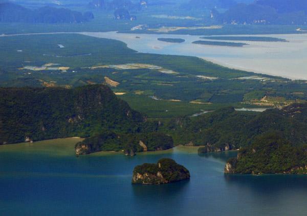 Phang-Nga Bay - Ko Ham, Cape Fai Mai, Ko Chong Lat Tai