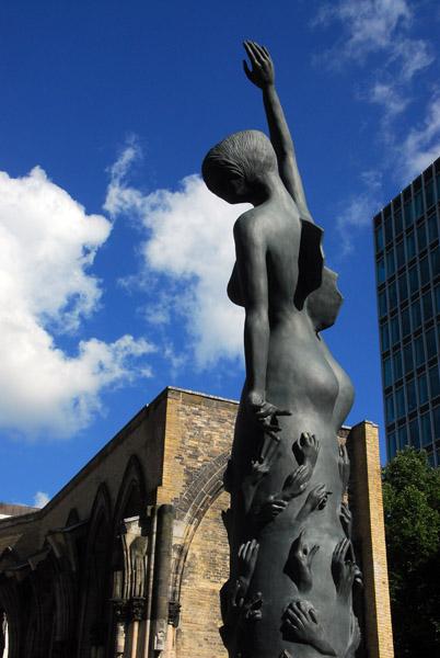 Sculpture, Nikolaikirche, Hamburg