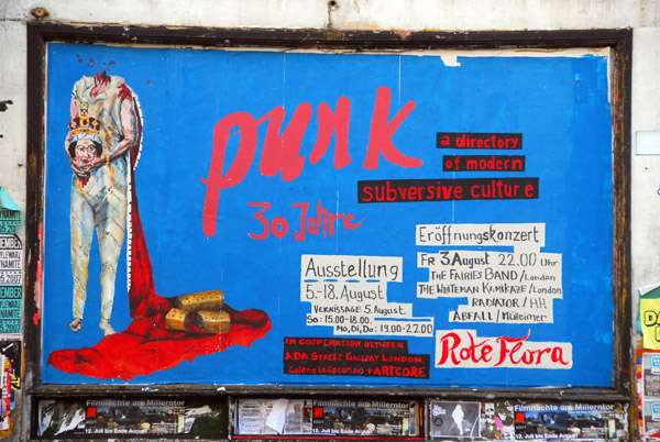 Rote Flora culture center - 30 years of punk, a directory of modern subversive culture