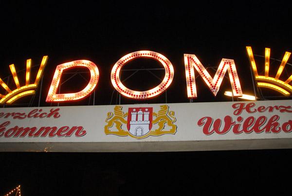 Hamburger Dom - north entrance