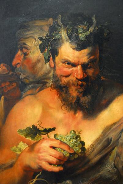Peter Paul Rubens (1577-1640) Two Satyrs - Zwei Satyrn