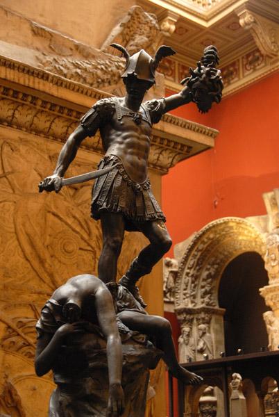 Perseus slaying the Gorgon, Medusa - Hugh Gerhard, 1590 (cast)
