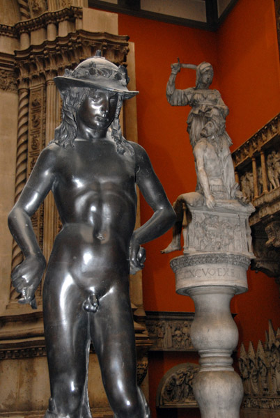 Donatellos David, 1425-30 (cast)