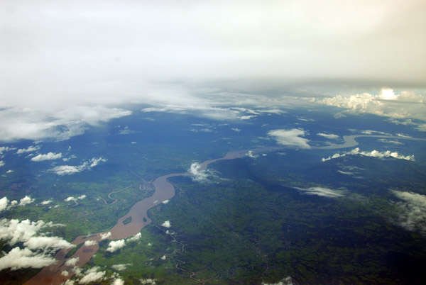 Mekong River, Thailand-Laos, near Khong Sedone, Laos