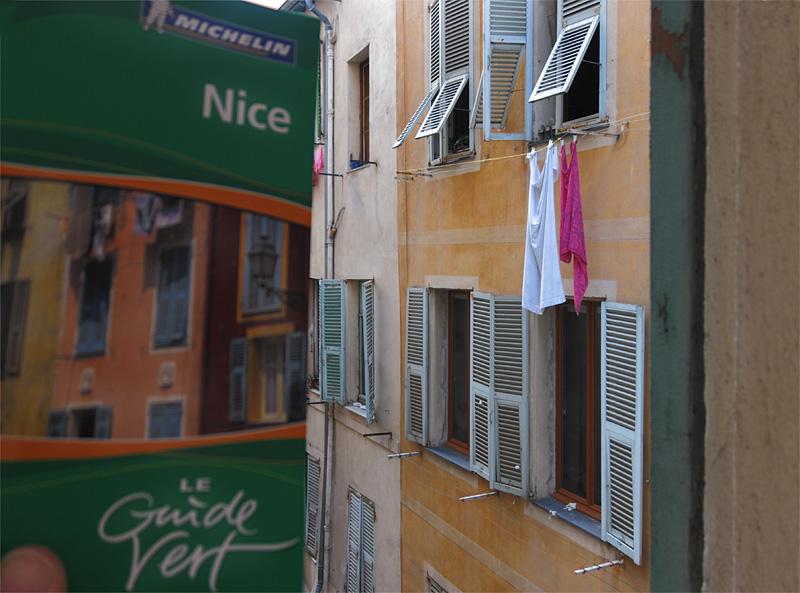 Nice/ loeil du touriste