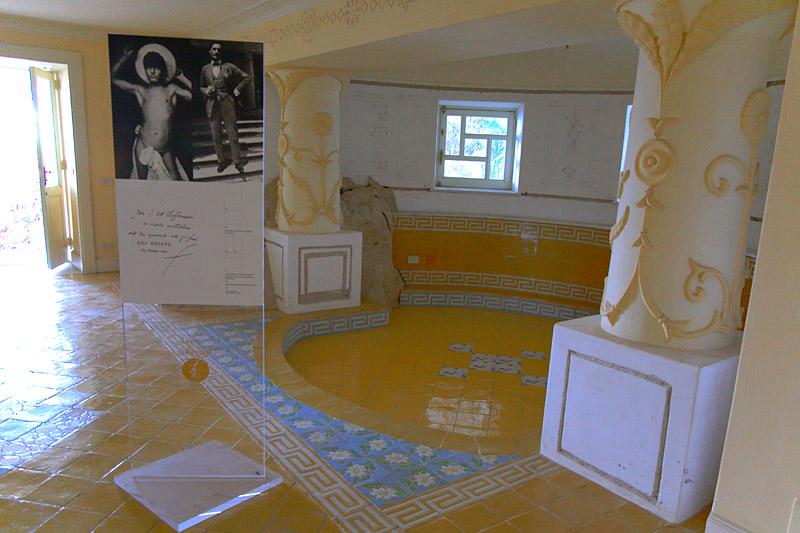 Villa Lysis   opium room