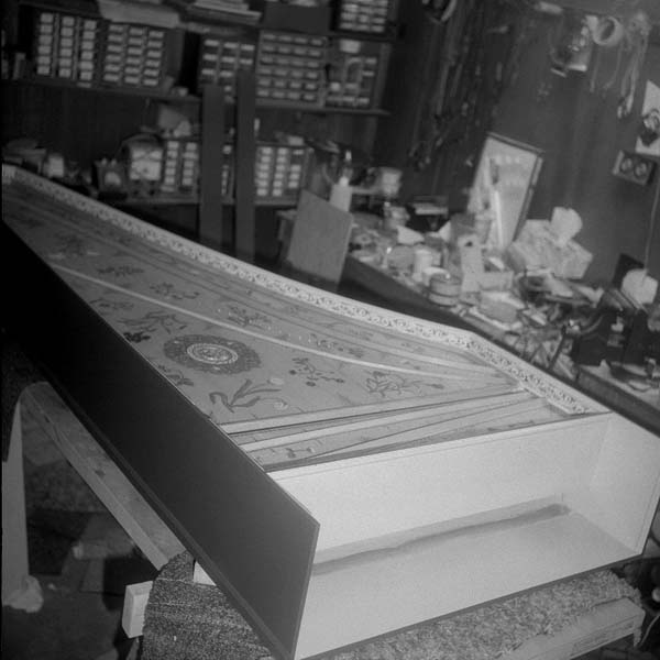 Harpsichord Decorated