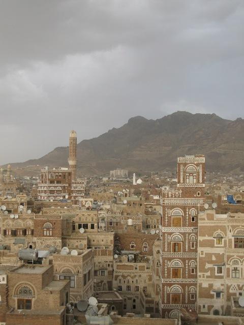 overlooking Sanaa