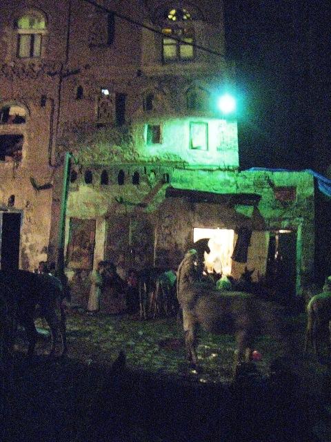 Sanaa at night