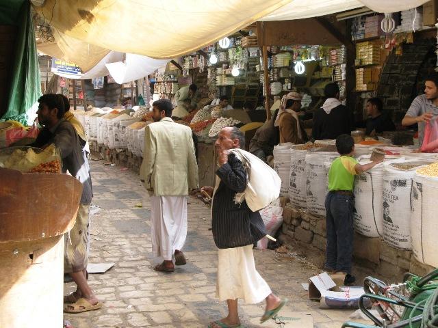 Sanaa bazaar