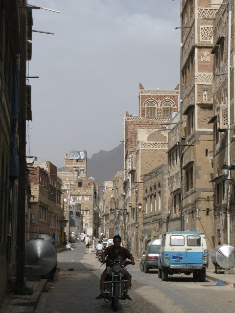 the mean streets of Sanaa