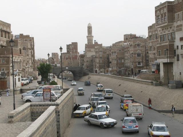 Sanaa streets