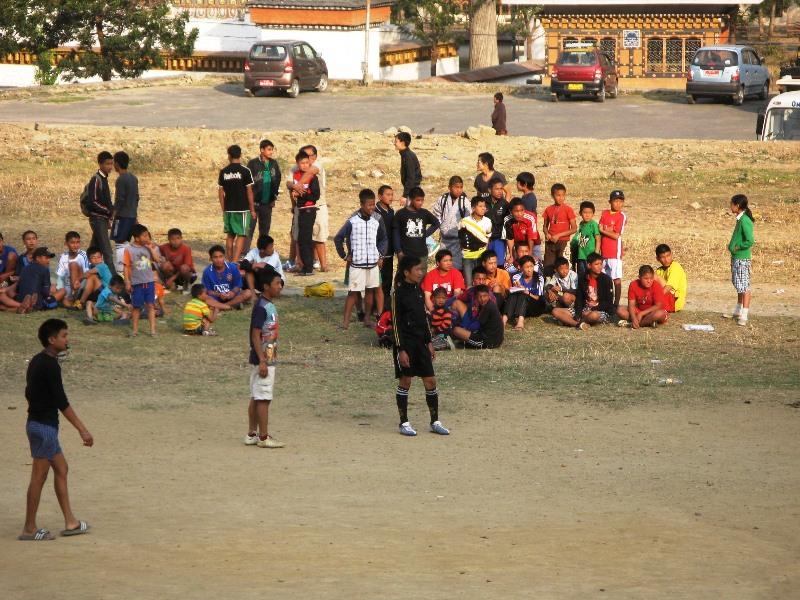Soccer in Bhutan!