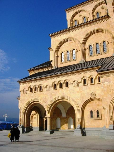 Sameba Cathedral facade