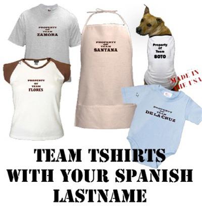 spanish team tshirt