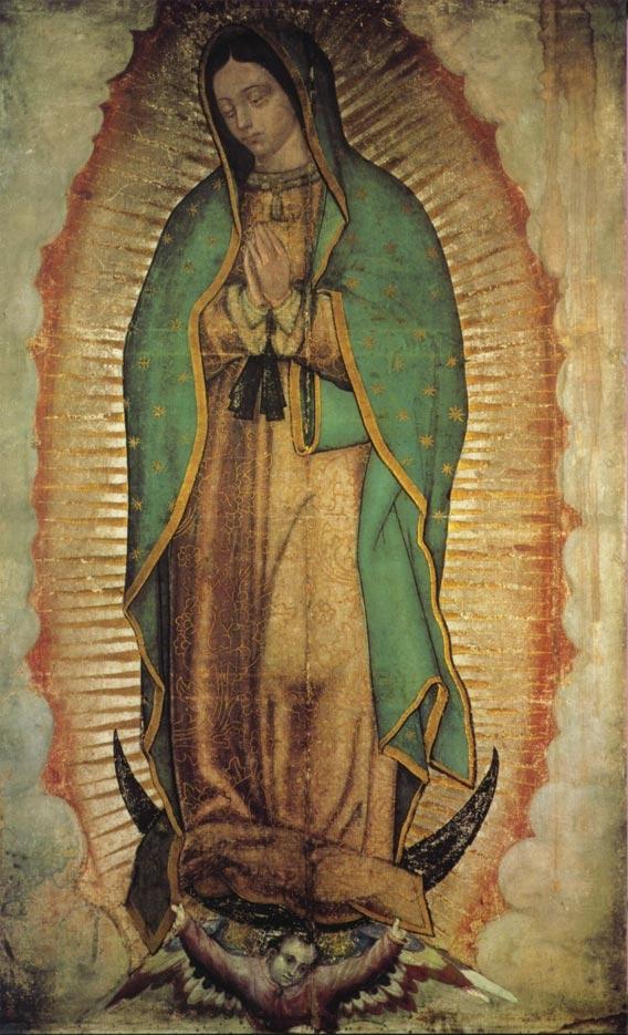 Recieved in a Chain letter Virgen de Guadalupe