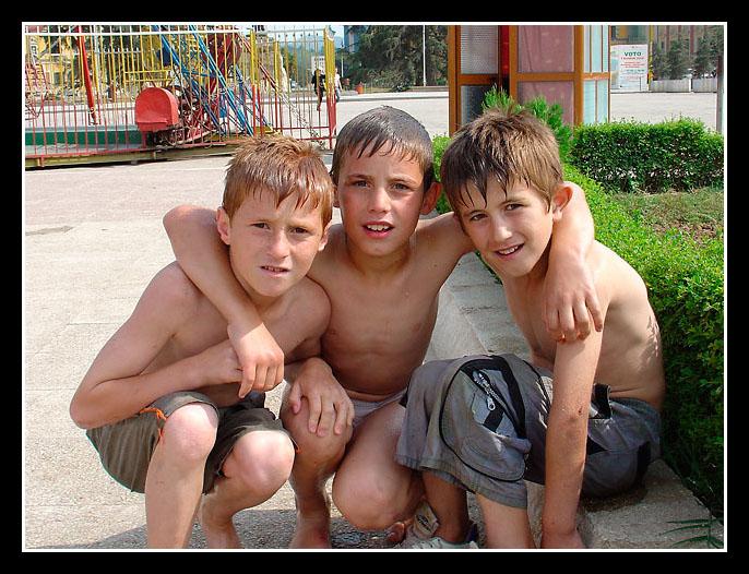 After the fun, Tirana