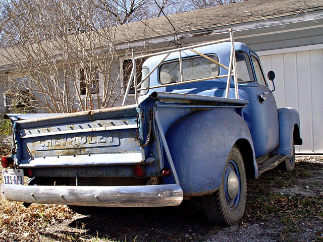 Pop 1949 Chevy Pickup
