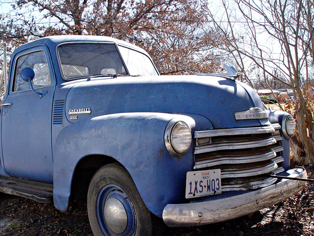 Pop 1949 Chevy Pickup