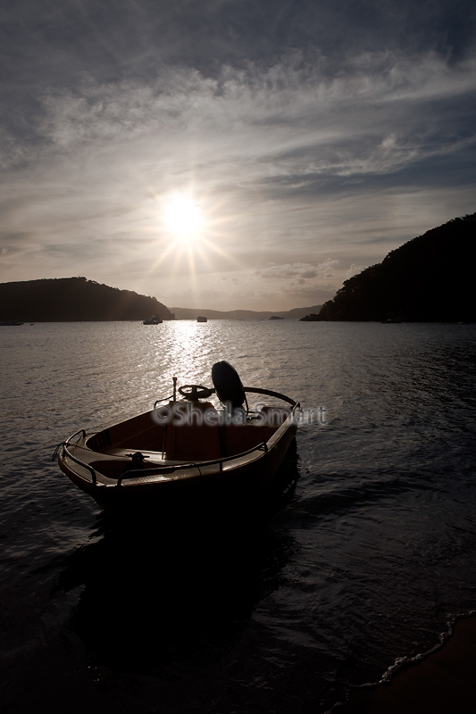 Boat in Pittwater