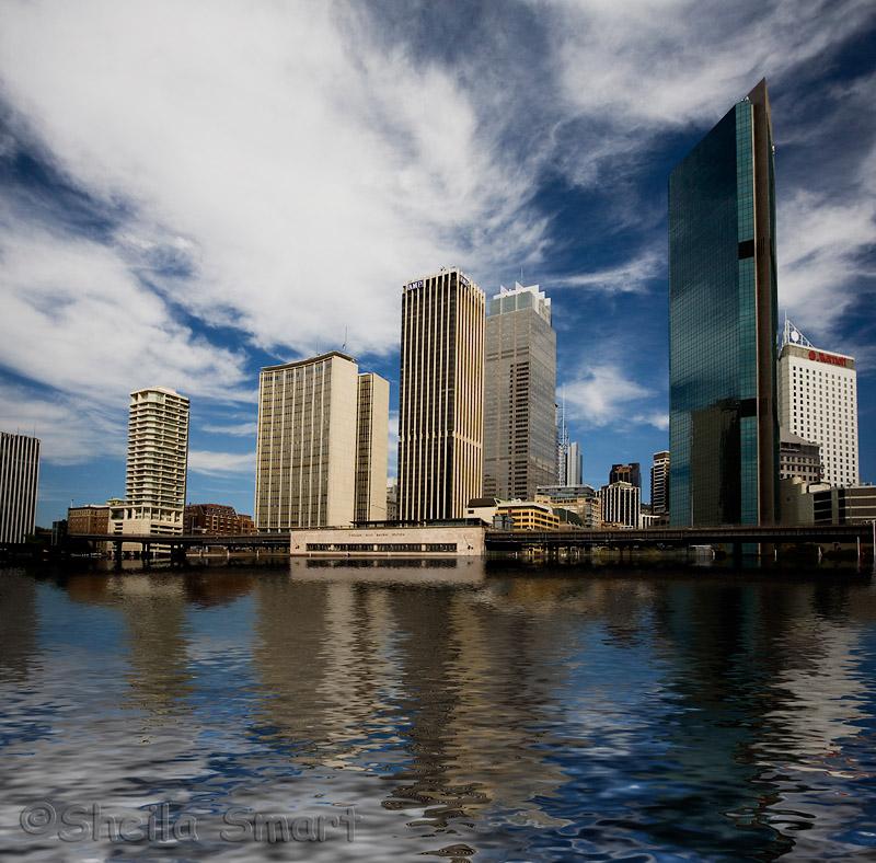 Sydney skyline after global warming!
