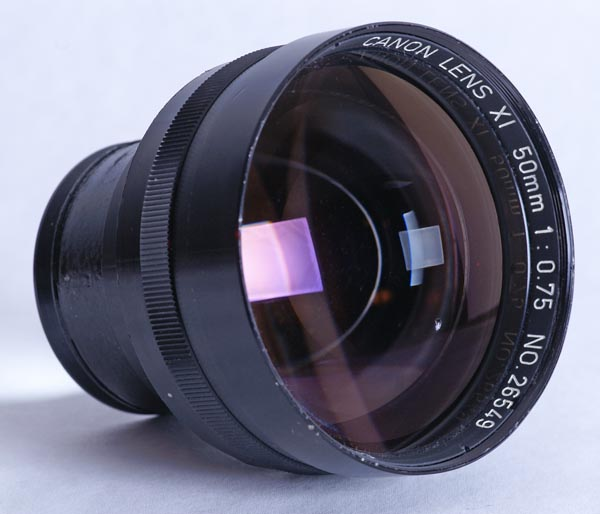 Canon f0.75 2348