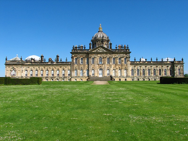 The beautiful Castle Howard