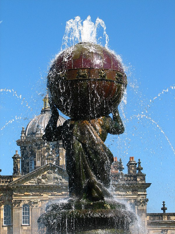Fountain at Castle Howard.