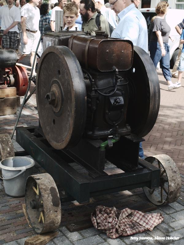 Motor voor machine