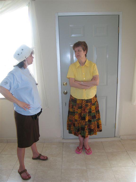 Laura and Barbara