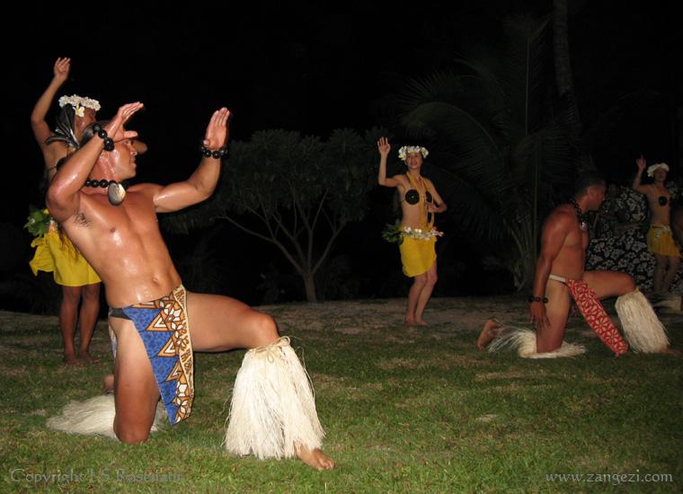 Our farewell island night, Aitutaki