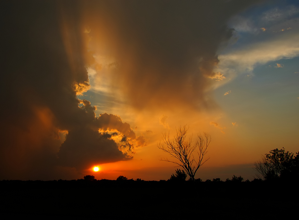 Sunset (Middle Fork) Composition #3
