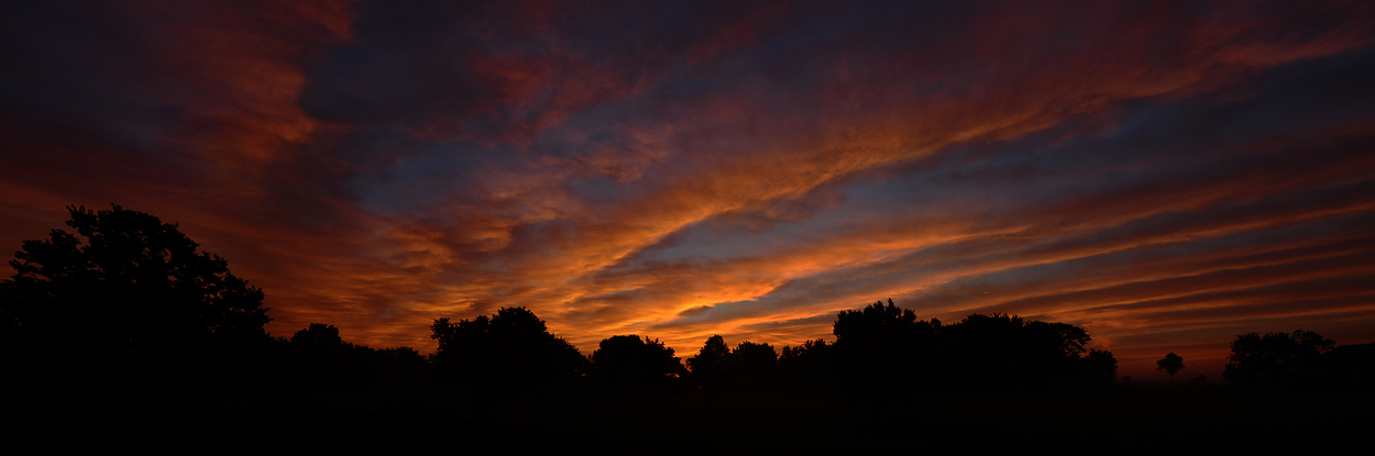 Morning Sunrise Panorama
