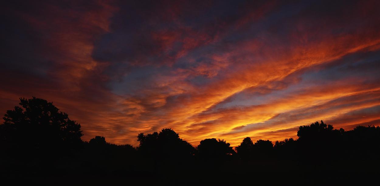 Morning Sunrise Panorama