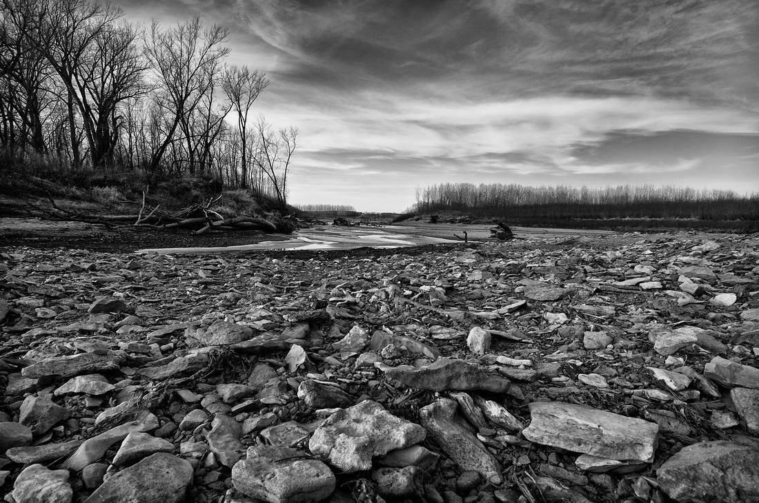 Grand River at Elam Bend