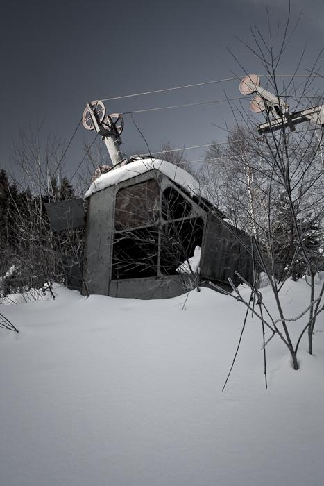 old ski-lift