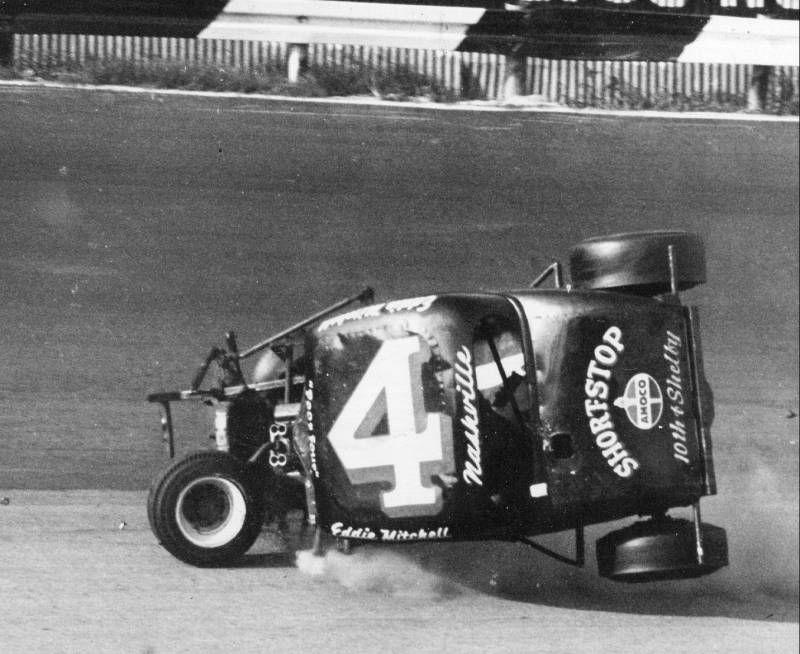 Eddie Mitchel Crash July 21,1963