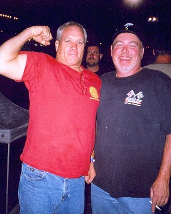 Nicky 4mosa and Bill Davenport