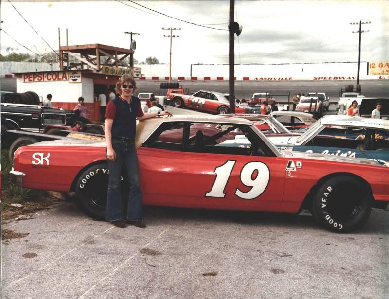 Dennis Wiser Fairgrounds Speedway 1974