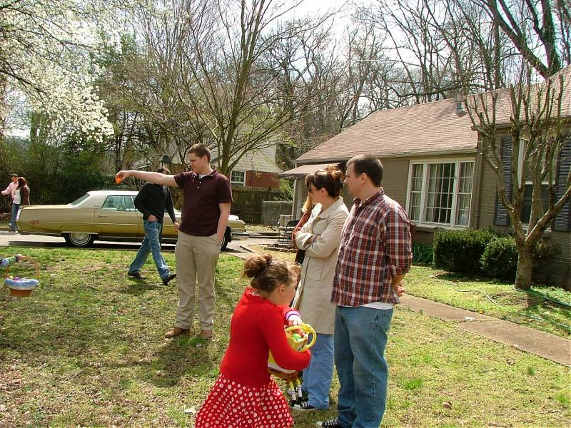 easter egg hunt 2008