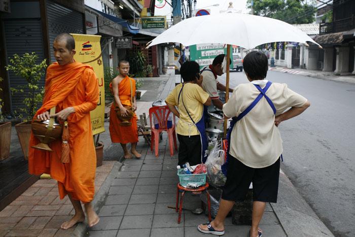 Monks gathering Alms.jpg