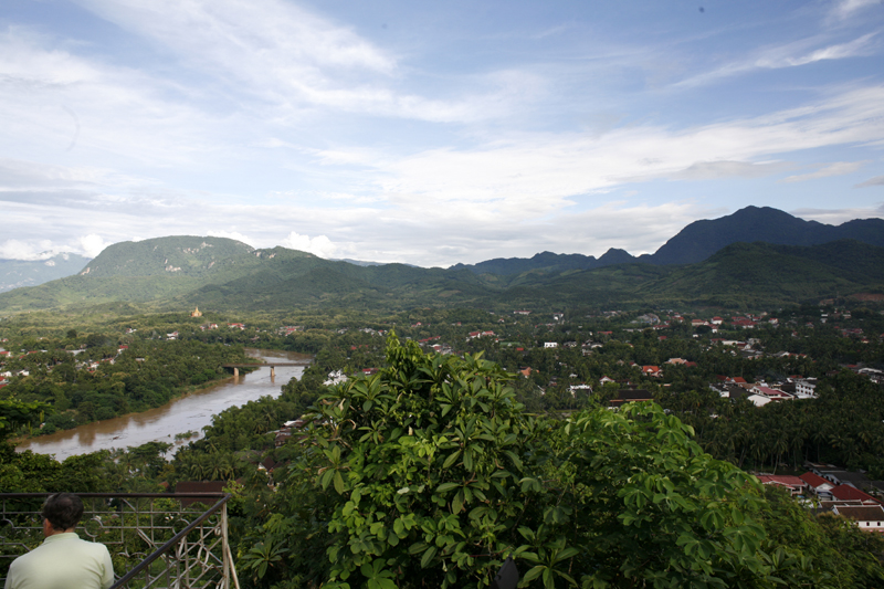 View of the Mekong River, Luang Prabang, Laos