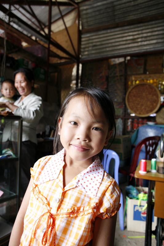 Child, Phonsavan Market, Xieng Kouang, Laos