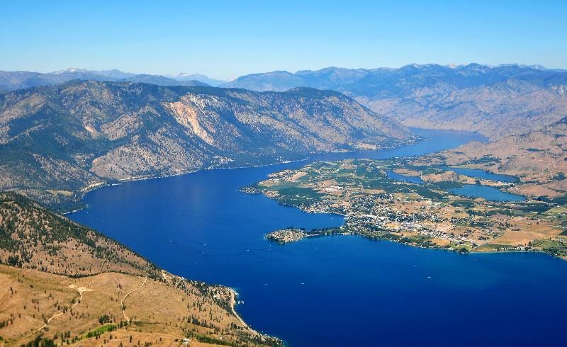 Mason and Lake Chelan